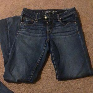 American eagle Boho Artist Flare Jeans. 8